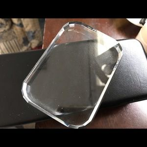 3/12 Faceted Glass Stand